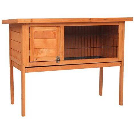 "Single Deck 36"" Waterproof Wooden Chicken Coop Hen House Pet Animal Poultry Cage Rabbit Hutch Natura"