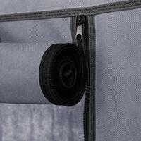 10 Tier Dustproof Shoes Cabinet Storage Organiser Shoe Rack Stand Holds - Grey