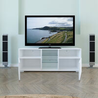 Modern LED TV Cabinet Stand Drawer Unit Front High Gloss