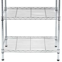 5-Tier multifunctional Wire Storage Shelving Unit for kitchen livingroom Home
