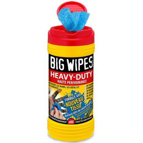 Boîtes de 120 Lingettes Heavy-Duty Big Wipes 4x4