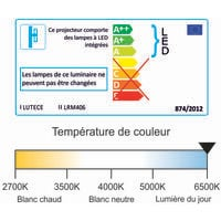 Réglette LED étanche 1200mm 40W 4800 LM 6500K IP65 - interconnectable - garantie 5 ans
