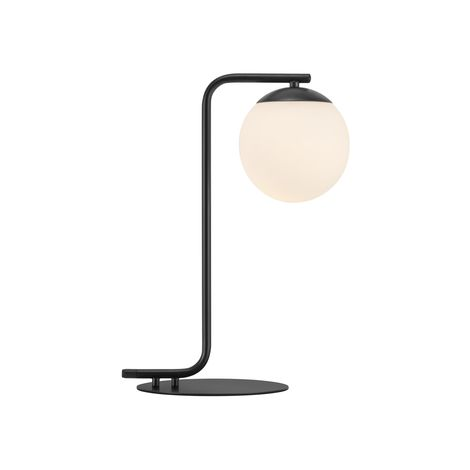 Lampe de table GRANT E14 40W H41cm Noir