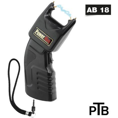 Elektroschocker -PTB- Power Max 500.000 V + Sicherheitsleine