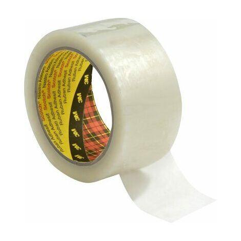 72 Rotoli di chiara imballaggio Pacco Bonus Tape 50mmx150m