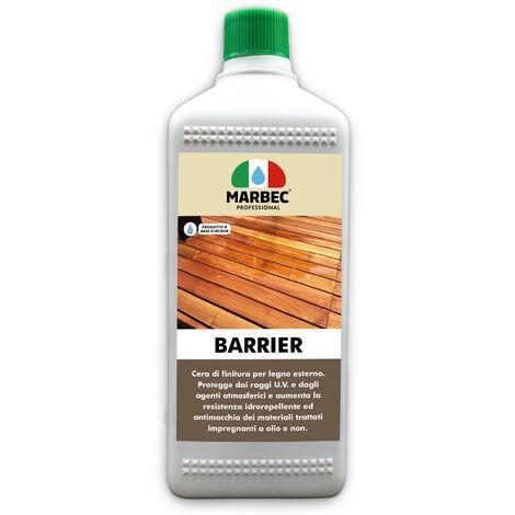 BARRIER 1LT   Finitore protettivo e nutritivo per legni esterni