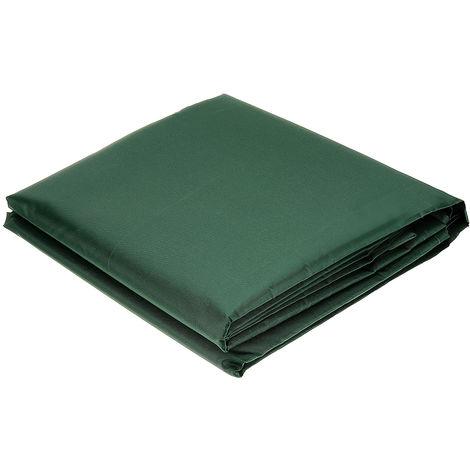 Cubierta protectora para muebles de jardín al aire libre Sofá impermeable verde 150X150X70Cm
