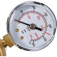 Regulador Argon Gas Mig Tig Caudalímetro Reductor Presión Soldadura Manómetro