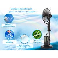 Ventilateur Brumisateur 40 Cm oscillant idéal pour les milieux ouverts