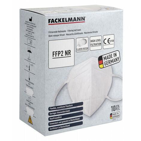 """Fackelmann FFP2 Atemschutzmaske, 10 Stück, Sonderangebot-""""60363"""""""