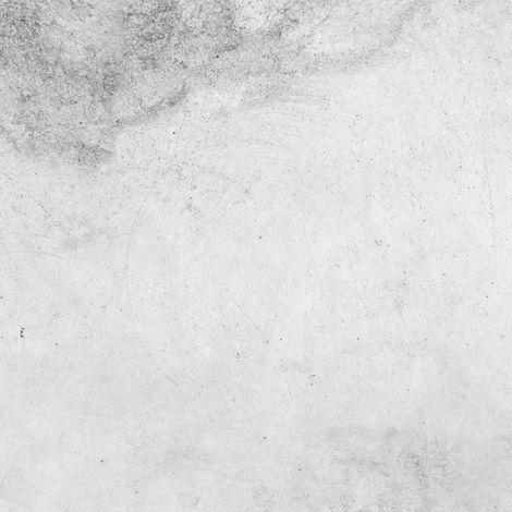 Béton Clair | Crédence cuisine en aluminium effet Béton gris clair - Lot de 2 bandeaux L100xH20cm