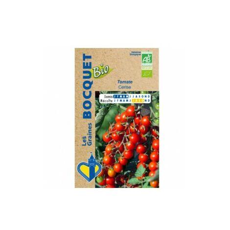 Tomate cerise- Certifiée ECOCERT FR-BIO-01 - 0,1g