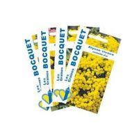 Lot de Fleurs Jaunes (4 sachets de graines à semer) - 3,7g
