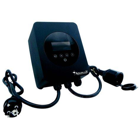 Régulateur de vitesse pour pompe de piscine  jusqu'à 1.5CV monophasée Aqualux