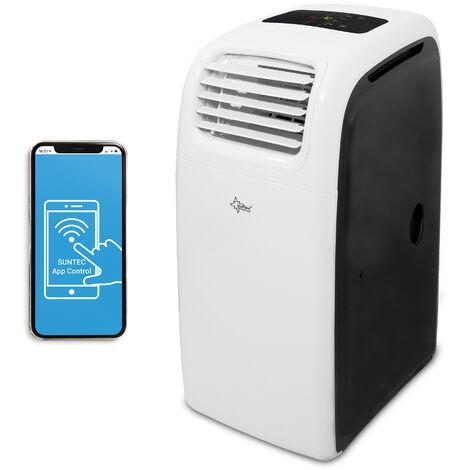 SUNTEC Climatiseur Mobile Reversible IMPULS 14.000 Eco R290, Climatiseur Portable 4 en 1 / 70 m² (14000 BTU)
