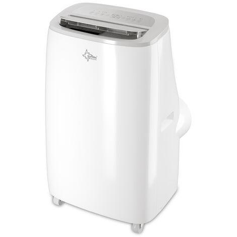 SUNTEC Climatiseur Mobile Reversible CoolFixx 3.5 Eco R290, Climatiseur Portable 4 en 1 / 60 m² (12000 BTU)