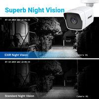ANNKE CCTV Camera System 8-Channel Ultra HD 4K H.265+ DVR and 4×5MP HD Weatherproof Cameras – 0TB Hard Drive
