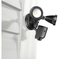 ANNKE 1080P AI Floodlight Camera HD Wifi IP Camera With Two-Way Audio Multiple Intelligent Detection Functions IP55 Waterproof