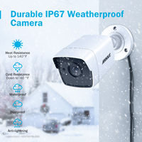 ANNKE 8CH 5MP 5IN1 Ultra HD Video Security Camera System H.265+ With 4PCS 5MP TVI Bullet Weatherproof Outdoor Surveillance Kit – 0TB Hard Drive