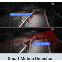 ANNKE 8CH 1080P Lite CCTV System 1080P DVR Kit 4pcs 2.0MP Outdoor Security Cameras System IR night Video Surveillance Kit ヨ 2T hard drive