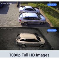 ANNKE 8CH 1080P Lite CCTV System 8pcs 2.0MP Outdoor Security Dome Cameras IR night Video Surveillance CCTV Kit – 2T hard drive