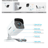 ANNKE Home 5MP H.265 Pro Wired Security Camera System DVR With 5MP HD Cameras for Outdoor CCTV Kits 8 Cameras – 3TB HDD