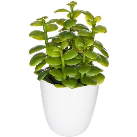 Atmosphera - Plante artificielle Cactus en pot H 18 cm