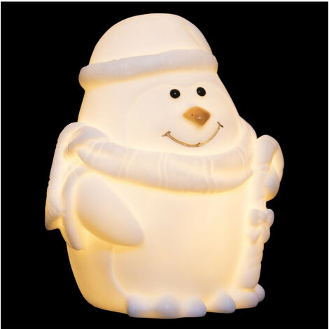 Feeric Christmas - Sujet de Noël lumineux Personnage LED Blanc chaud