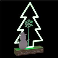 Feeric Christmas - Sapin lumineux à Néon H 34.5 cm