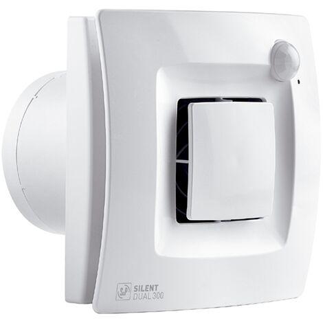 Extractor de baño silent dual 300 - Blanco