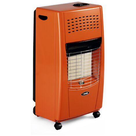 Estufa gas butano infrarrojos bella naranja