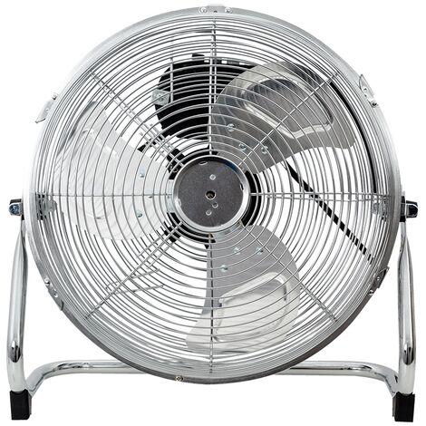 in.tec] Ventilador de Suelo 42x43,5x18cm Máquina de Viento