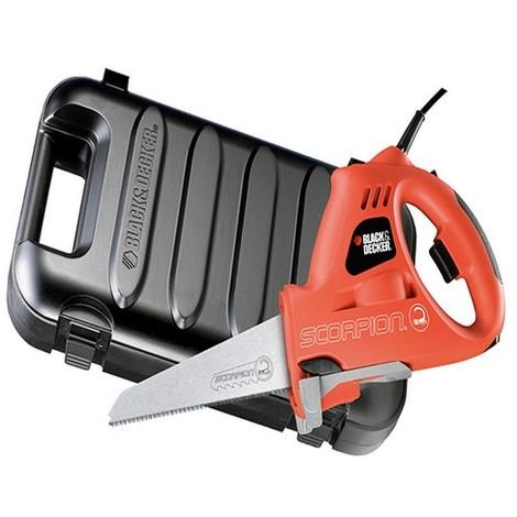 B/DKS890EK KS890EK Scorpion Powered Handsaw & Kitbox 400 Watt 240 Volt