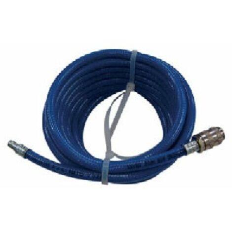 Manguera de toma de aire estándar. Tubo Blueline, longitud 7,5m con conexiones rápida CEJN HONEYWELL