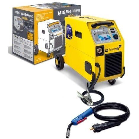SOLDADOR MIG/MAG SMARTMIG 162 230V-F1 GAS/NO GAS GYS 374033160