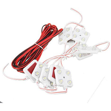 12V 40Led Interior Modules Lighting Kit For Lw Transit Van Vw Van Ducato Truck