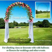 Iron Bow Way Assembler Door Wedding Party Bridal Prom Floral Door Garden Decor