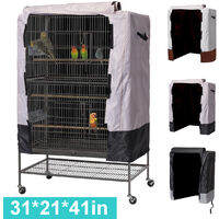 Bird Cover Waterproof Oxford Cloth Parrot Cage Cover Universal