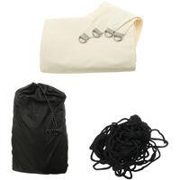 Durable Sun Shade Sail Backyard Canopy Anyi-UV Waterproof Awning Storage Bag beige 3*4m