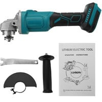 125mm Brushless Angle Grinder For Makita Cordless 11000RPM Rechargeable Polisher(Not Included Battery)