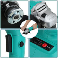 125mm 1600WCordless Brushless Angle Grinder Body Tool (Not Included Battery)