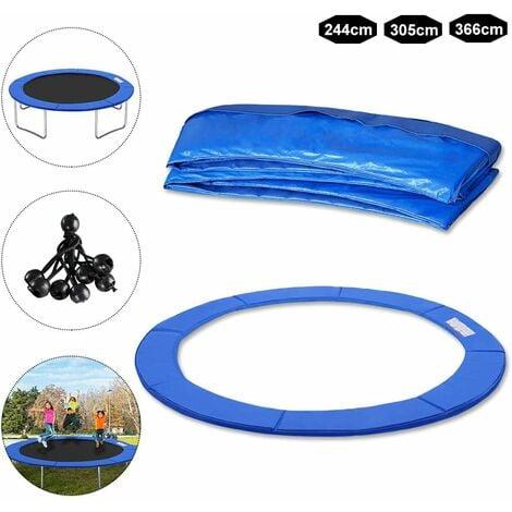 Coussin de Protection des Ressorts pour Trampoline - 244cm - blau