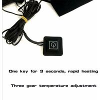 USB électrique veste chauffante coussin chauffant en plein air thermique hiver chaud automne équipement chauffant gilet chauffant coussinets pour bricolage vêtements chauffants