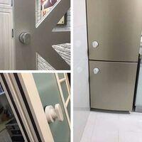LangRay puissant ventouse verre miroir porte poignée réfrigérateur tiroir salle de bain ventouse mur main courante baignoire douche poignée salle de bain cuisine bouton ventouse accessoires