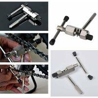 LangRay Outil de Maintenance pour Vélo, 5pcs Outil de Retrait de Cassette de Vélo, Kit D'outils de Réparation de Vélo, Outil de Démontage de Cassette de Vélo, Outil Séparateur de Chaîne