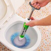 LangRay Déboucheur à ventouse puissant, haute pression, pour la salle de bain, les toilettes, baignoires, douches