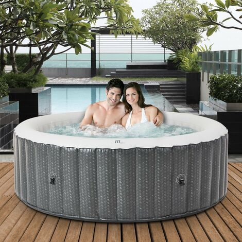 6 Personen Whirlpool aufblasbar MSPA OTTOMAN Outdoor Garten Massage Pool 2021