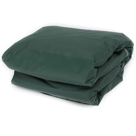 Cubierta de muebles de jardín 180 x 268 x 90 cm cubierta de mesa plegable impermeable al aire libre que cubre la silla LAVENTE