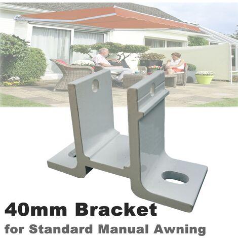 Soporte de 40 mm para persiana exterior manual estándar