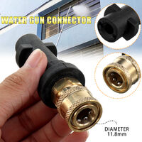 Para Karcher K2-K7 Accesorios de olla de espuma de unión de pistola de agua de alta presión